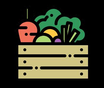 légumes, jardin, permaculture