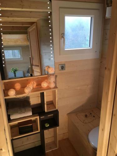 Une salle de bain optimisée