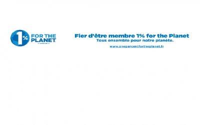 Toc Toc Tiny s'engage pour l'environnement avec 1% for the Planet